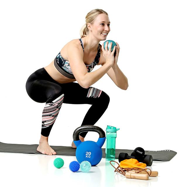 Træningsudstyr og -tøj til nybegynderen