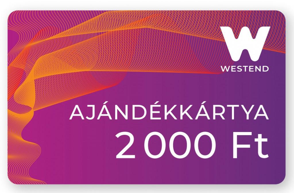 Westend ajándékkártya