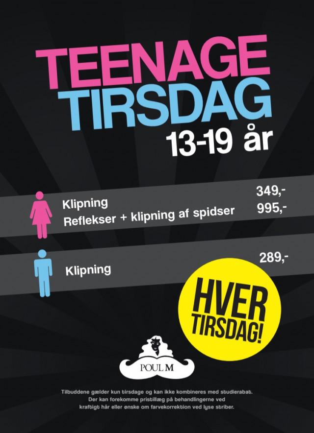 Teenage Tirsdag