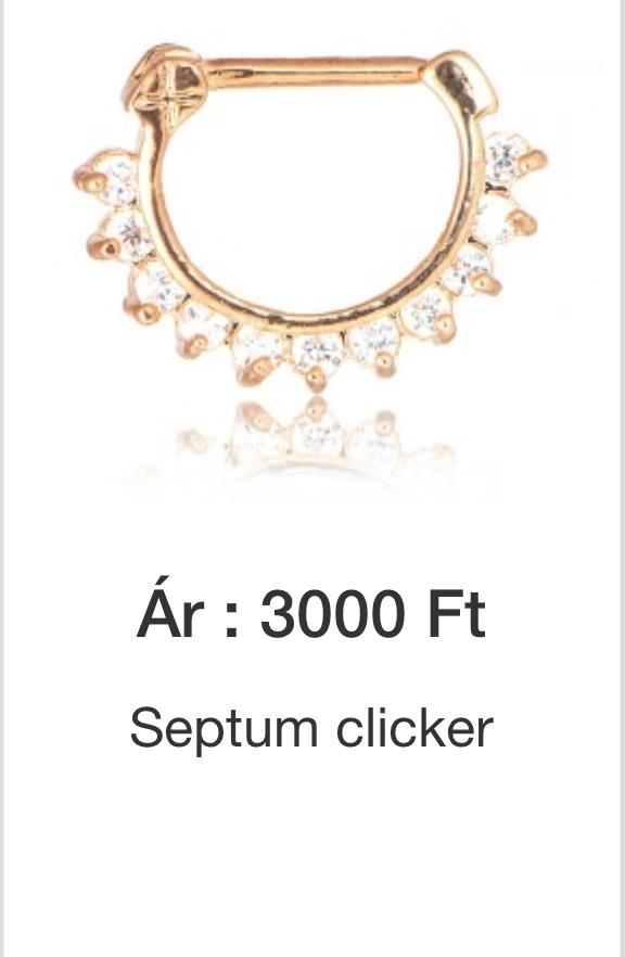 Septum clicker