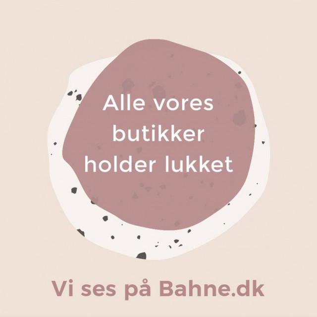 Vi holder lukket til og med d.13 April -men shop på bahne.dk