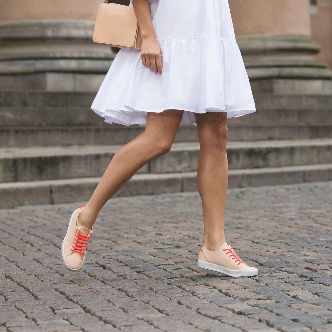 ECCO női bőrcipők