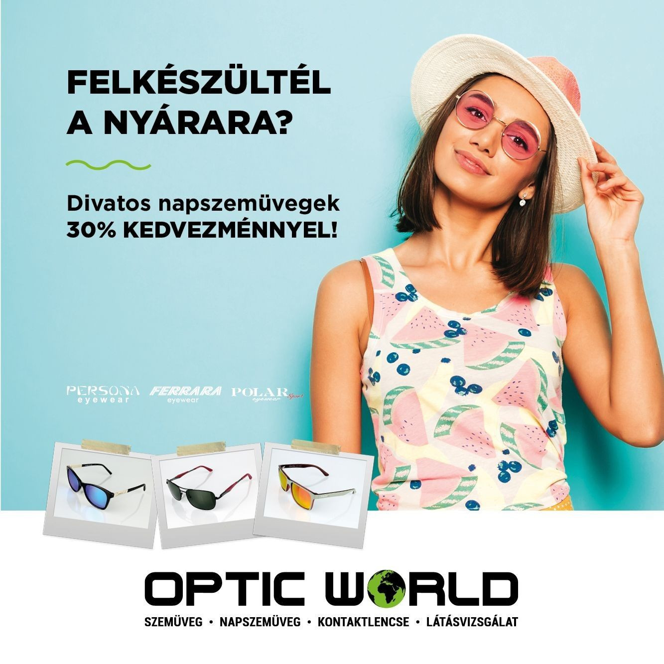 Napszemüveg - 30% kedvezmény!