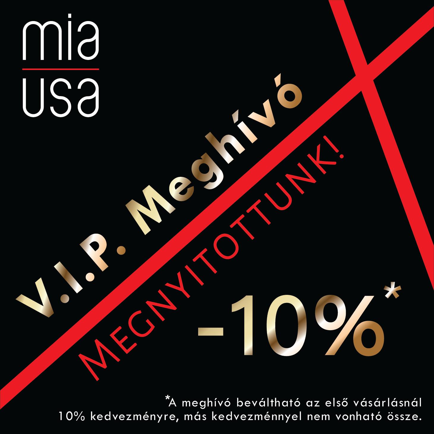 Megnyitott a MIA USA American Beauty Boutique!