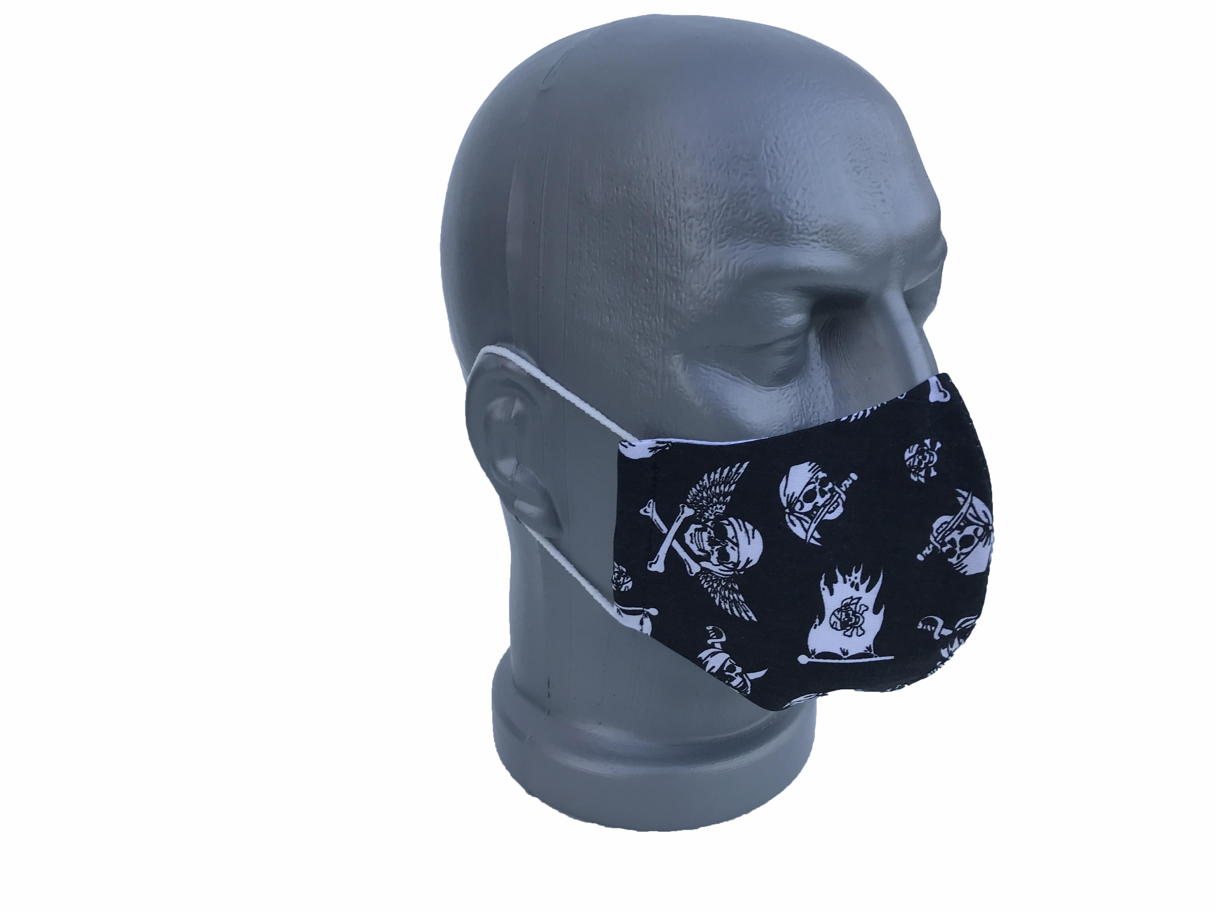 Koponyás maszk