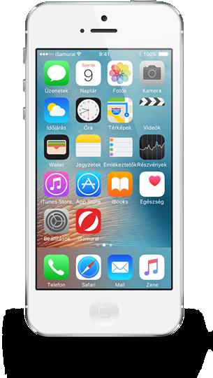 iPhone 5 kijelző csere - 2020 akciós áron
