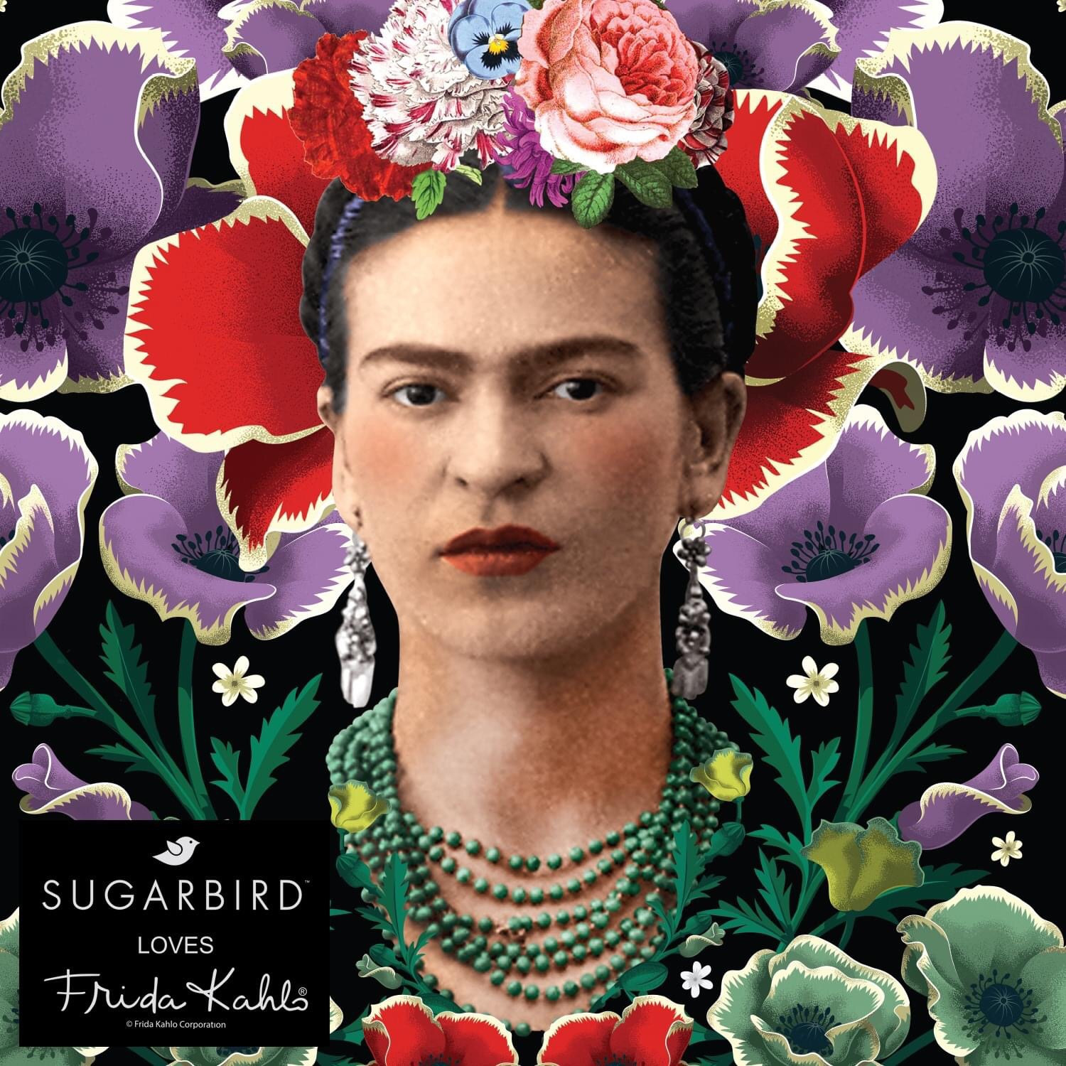 • Sugarbird loves Frida Kahlo •