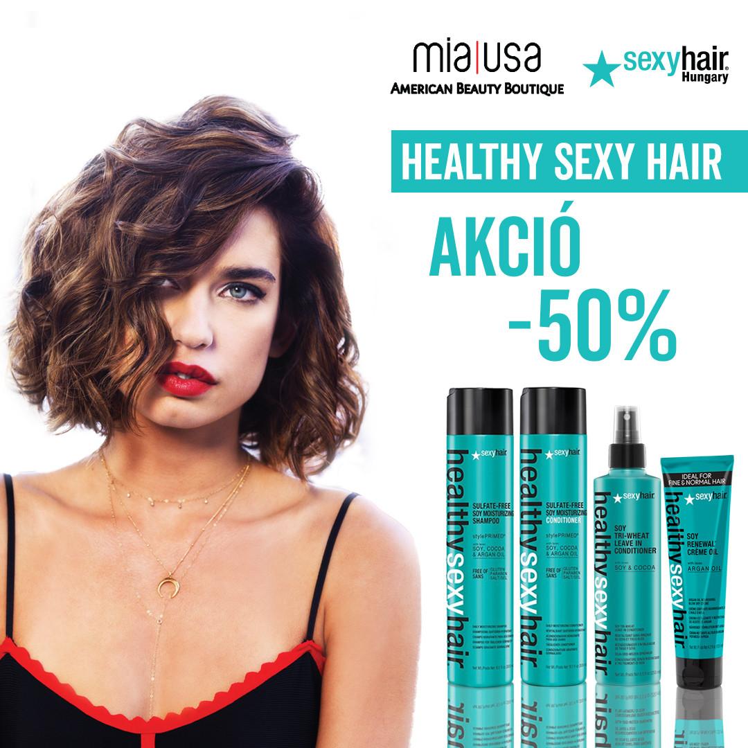 Healthy Sexy Hair promóció