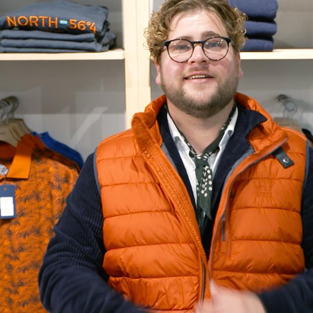 Tøj til store mænd - moderne herretøj hos Saxkjær & Aamann