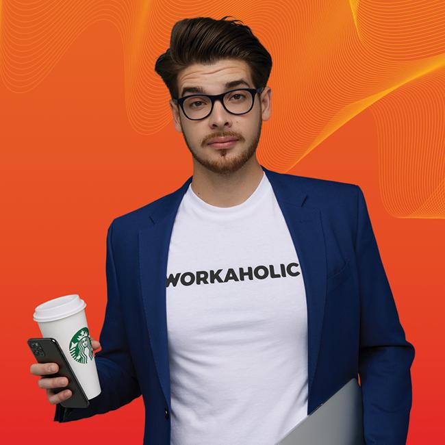 Legyen Tiéd a WORKAHOLIC póló - Limitált kiadás!