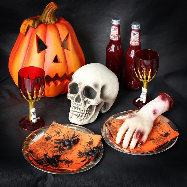 Hjemmelavet halloweenpynt og ideer til en sjov halloweenfest