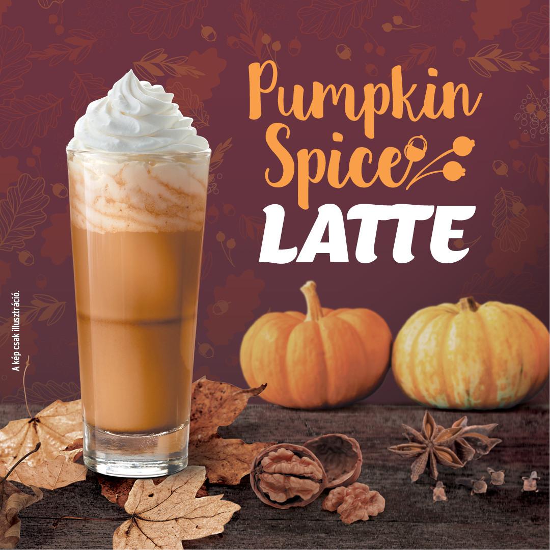 Pumpkin spice latte a Tchibo-ban