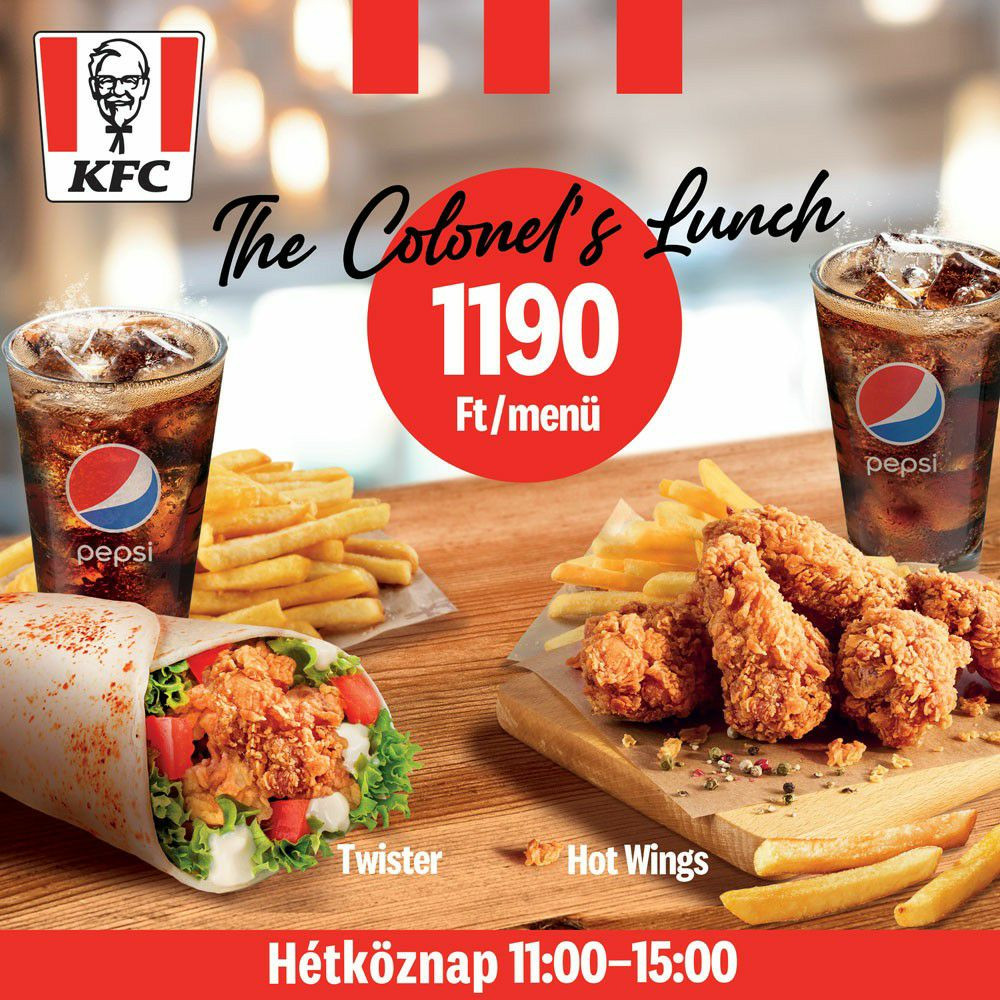 The Colonel's Lunch