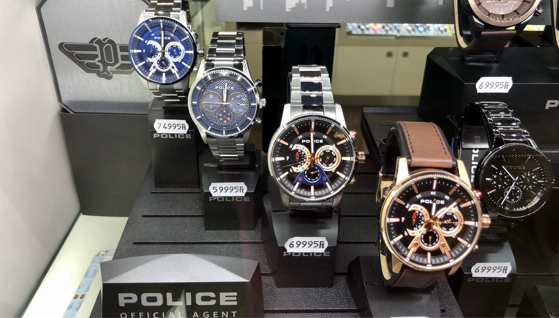 Police férfi karórák - új kollekció