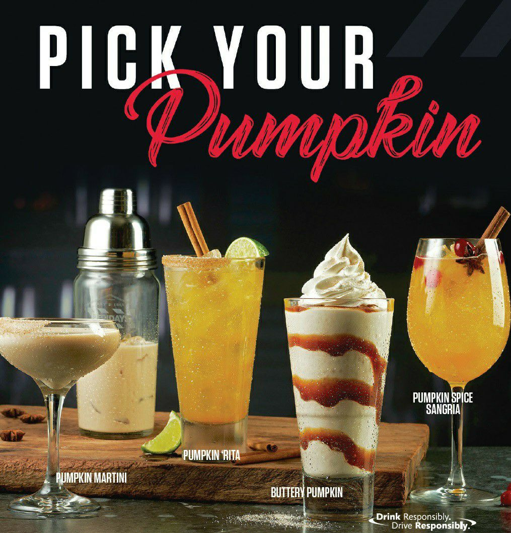TGI Fridays - Pick your Pumpkin