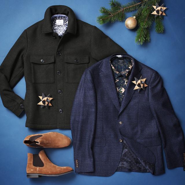 Tøj til julefrokost - mænd - moderne juleoutfits i 2020