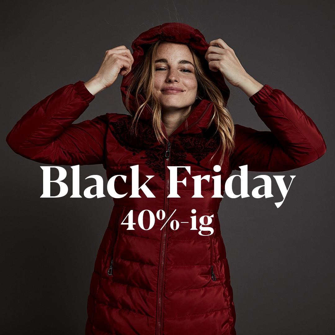 Black Friday, termékek akár 40% kedvezménnyel!