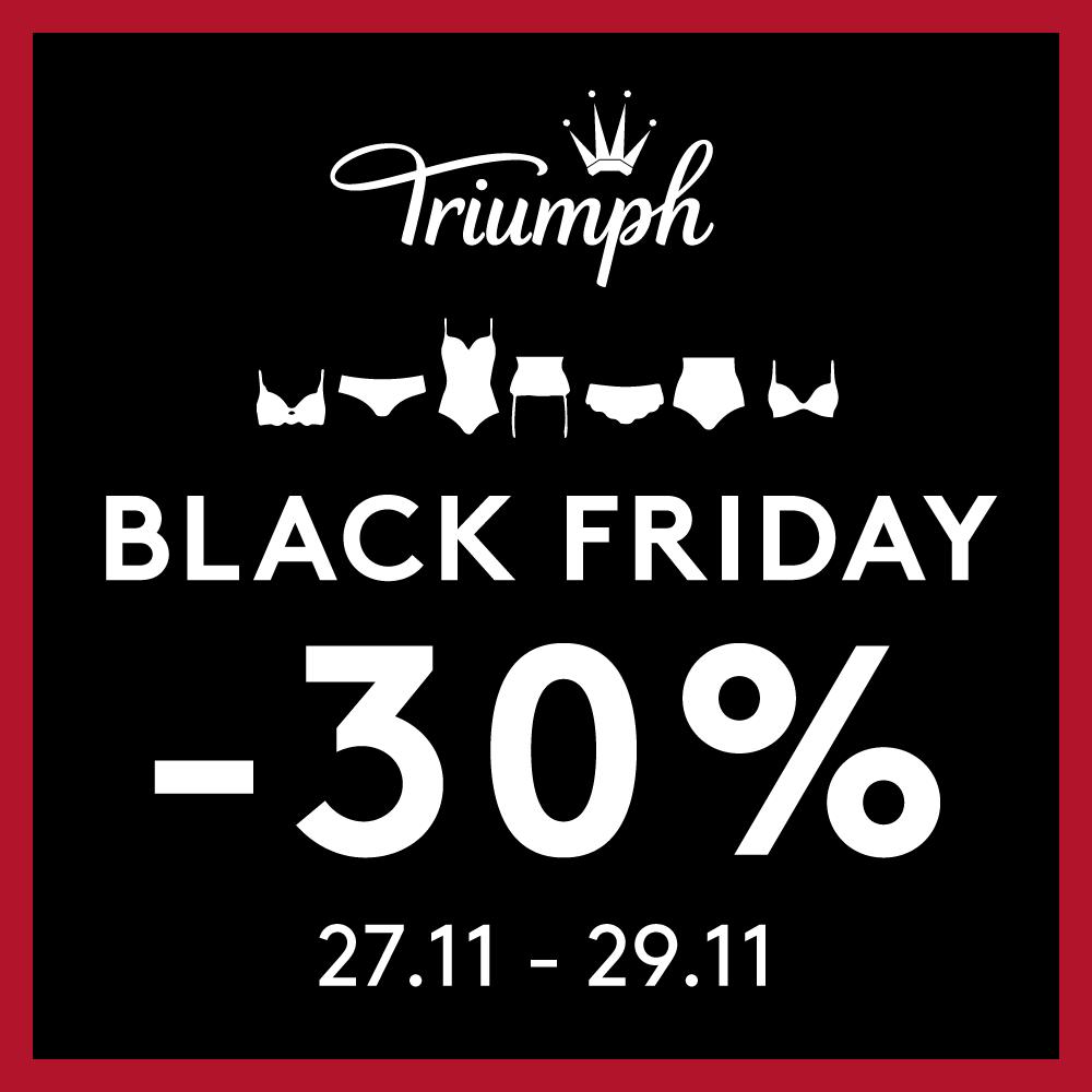 Black Friday a Triumphban 🖤
