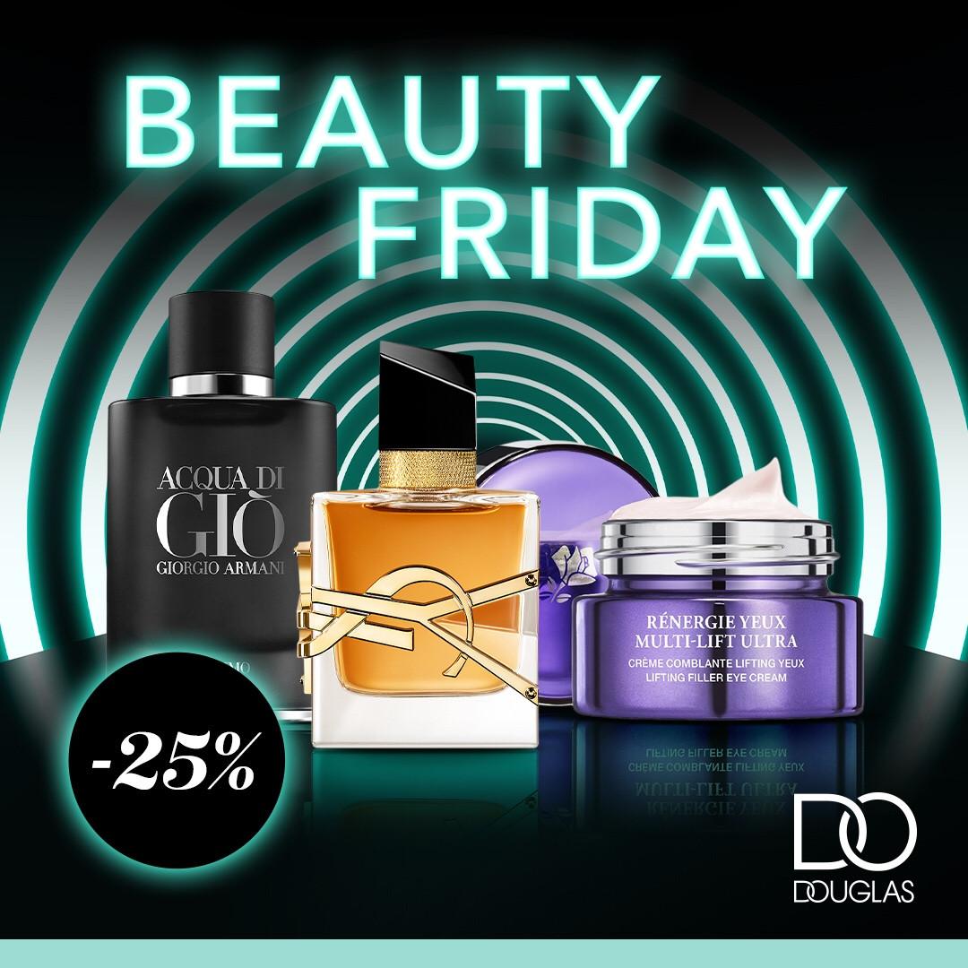 Douglas Black Friday egy hétvégén keresztül! 🖤