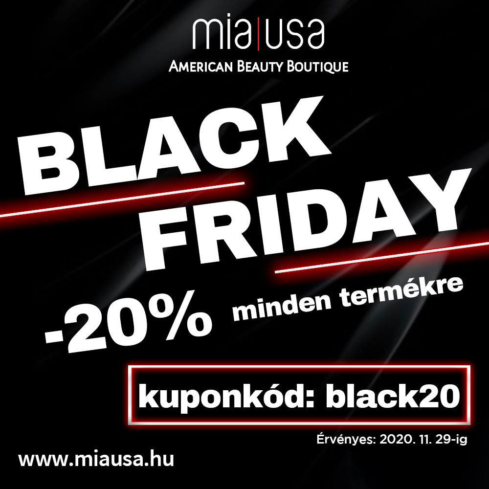 BLACK FRIDAY - MIA USA 20% kedvezmény