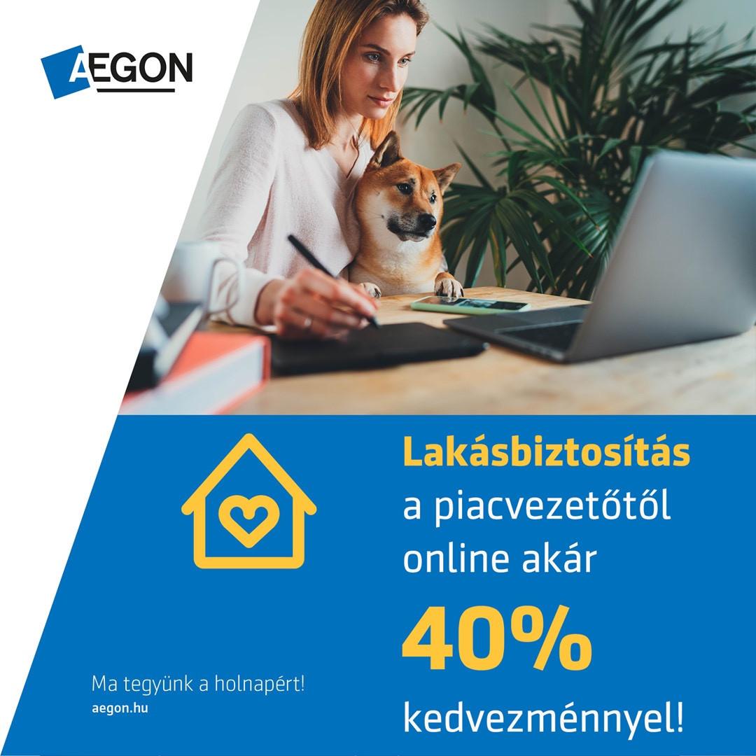 Lakásbiztosítás 40% kedvezménnyel az éves díjból!