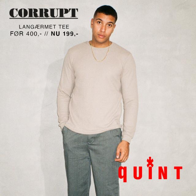 Corrupt langærmet t-shirt ✨🔥