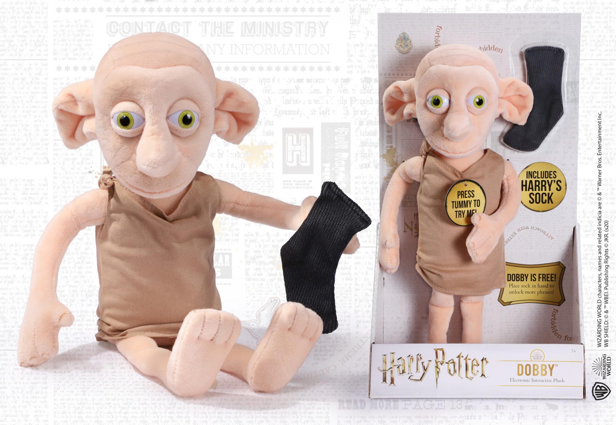 Harry Potter Dobby Interaktív Plüss