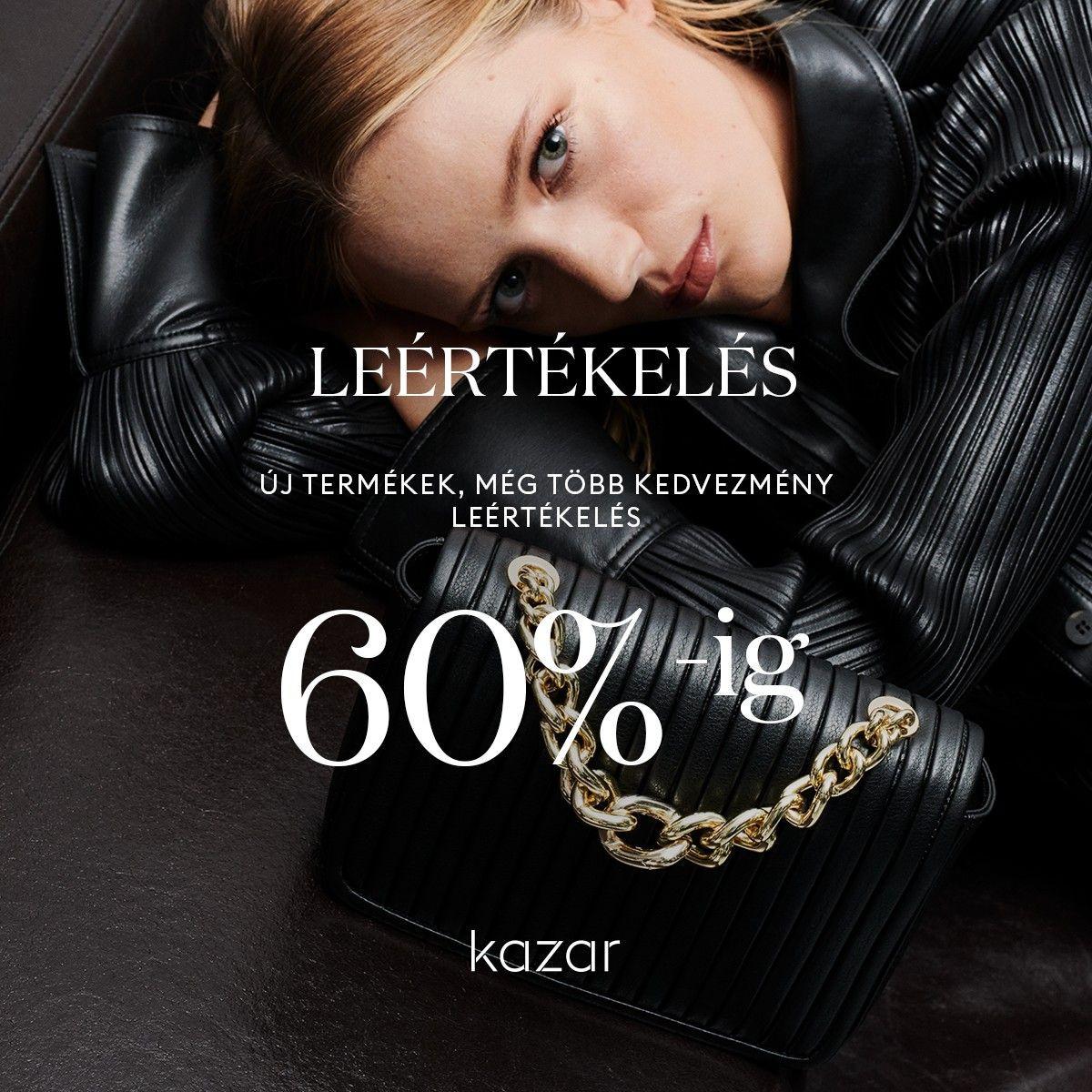 Akár 60% kedvezmény a Kazarnál