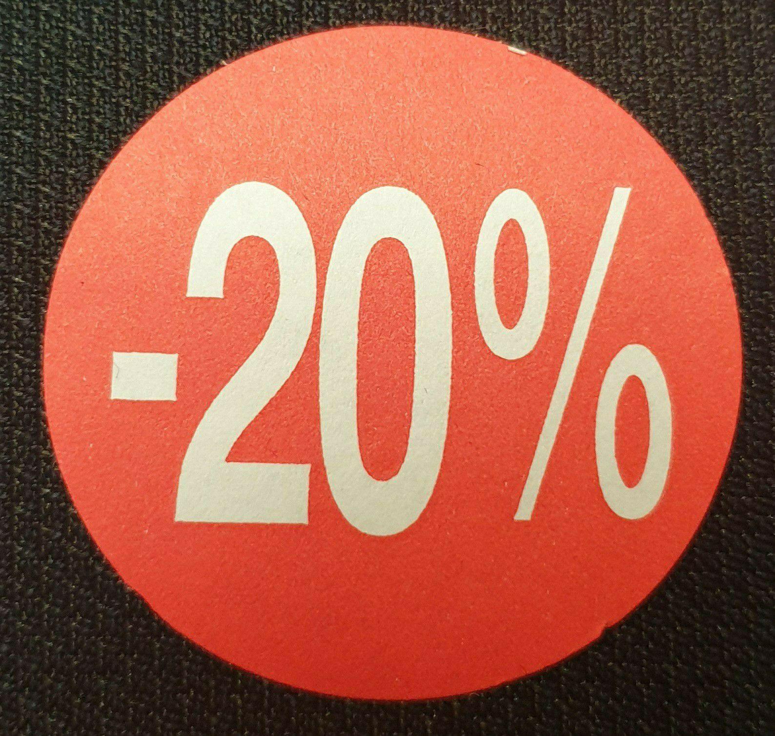 Minden termékre 20% kedvezmény!