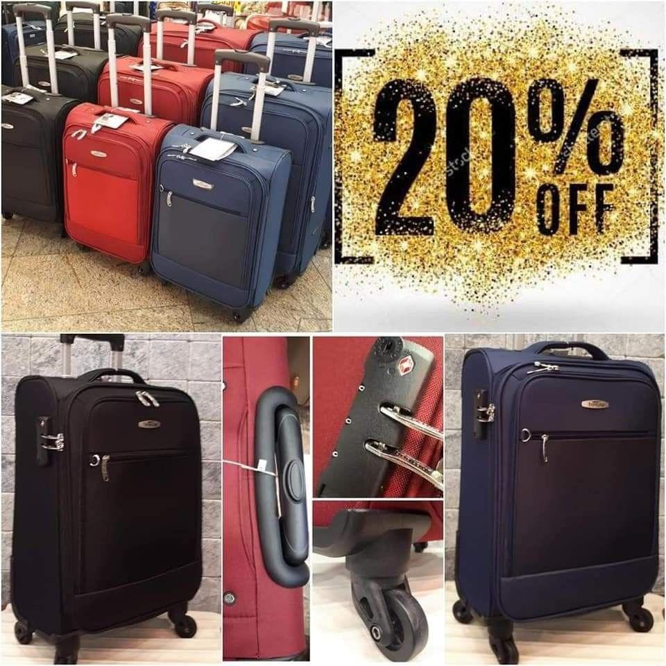 Superlight vászon bőröndkollekció