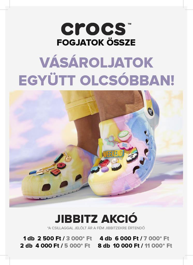 Crocs Jibbitz akció