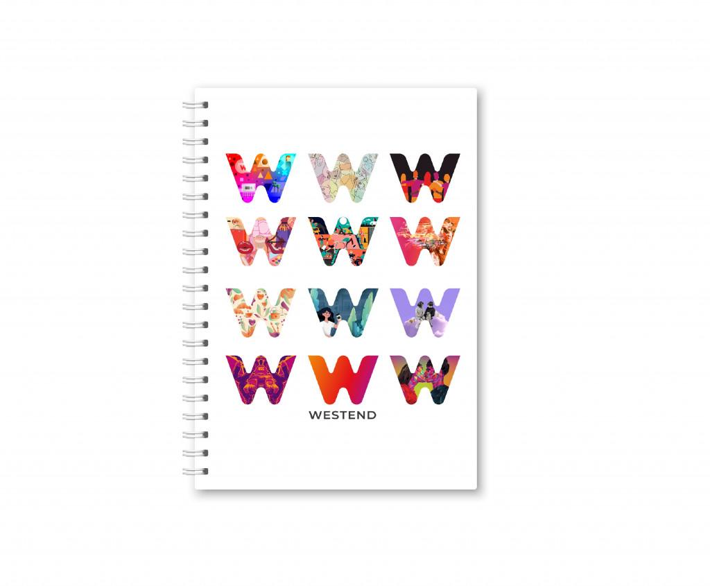 Westend jegyzetfüzet