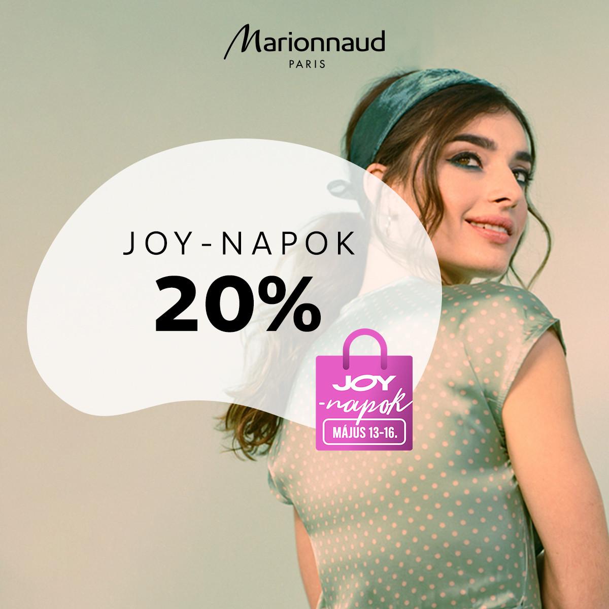 🎉 JOY-NAPOK a Marionnaud-nál! 🎉