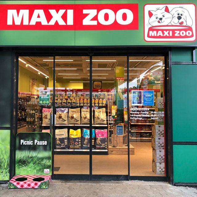 Maxi Zoo i WAVES i Greve har alt til dit kæledyr