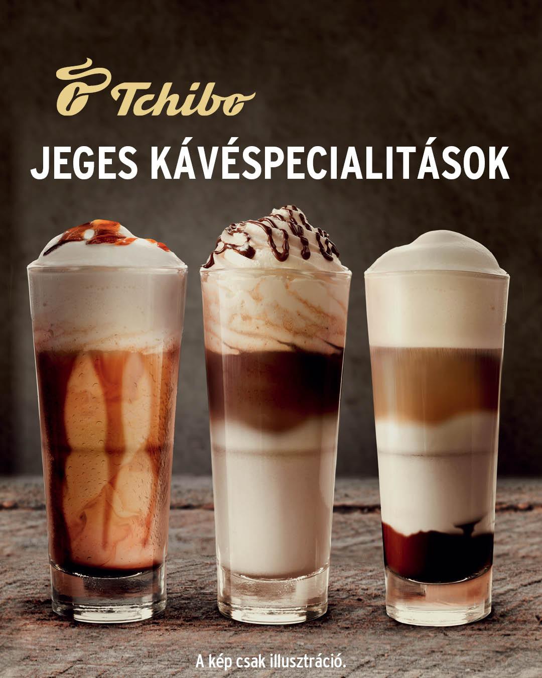 Jeges kávéspecialitások