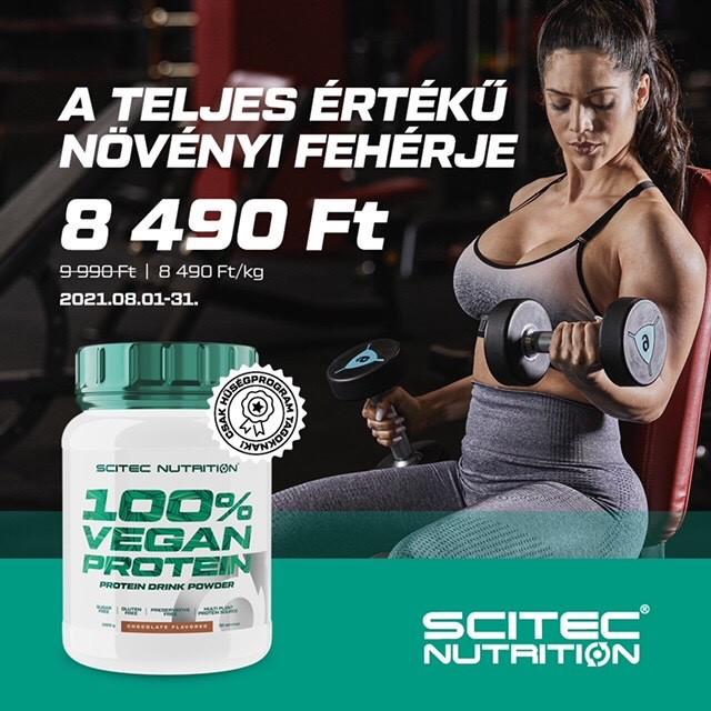 🌱ÚJ Vegan Protein bevezető áron!
