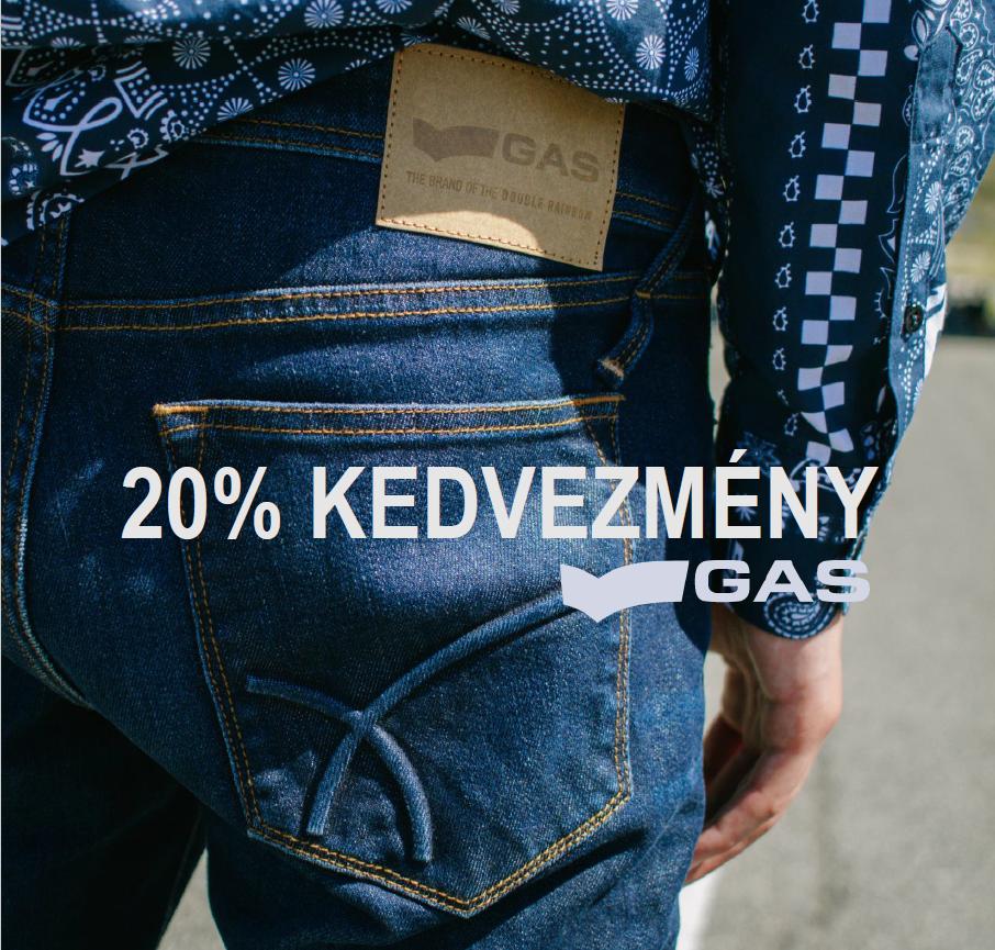 Extra 20% kedvezménnyel kezdjük az őszt a GAS-ban