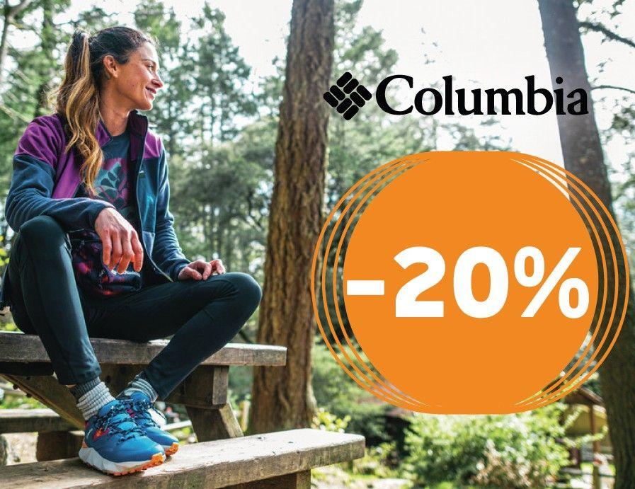 20% kedvezmény a Columbia márkaüzletben