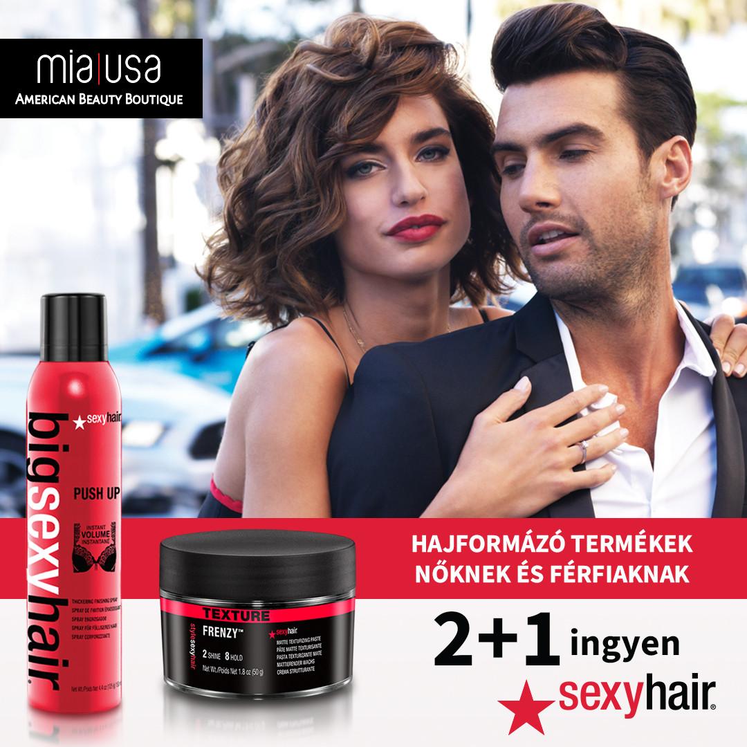 2+1 ingyen SEXY HAIR