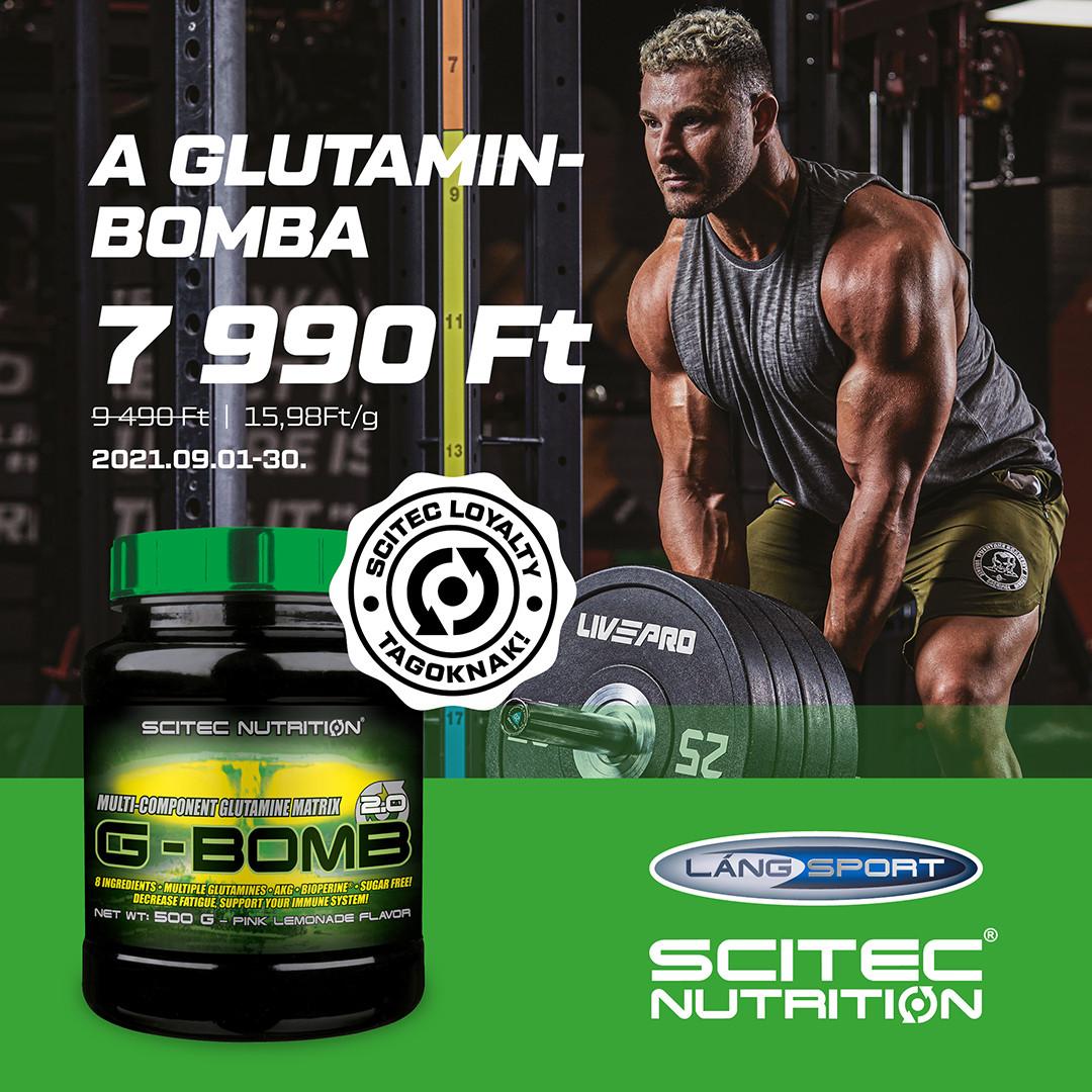 G-Bomb 💪🏼 glutamin akció!