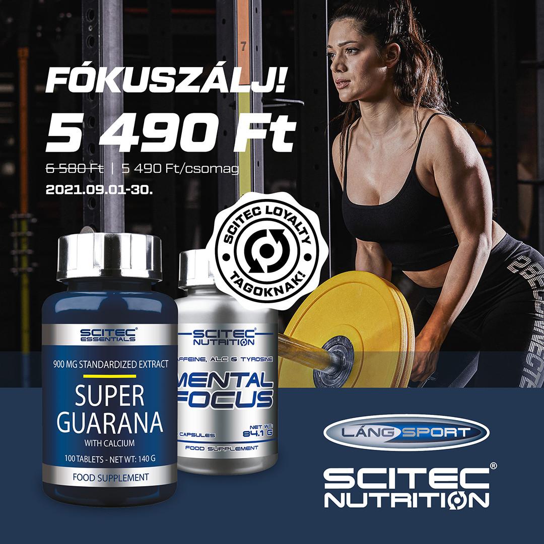 Mental Focus+Super Guarana akció a szellemi frissességért!