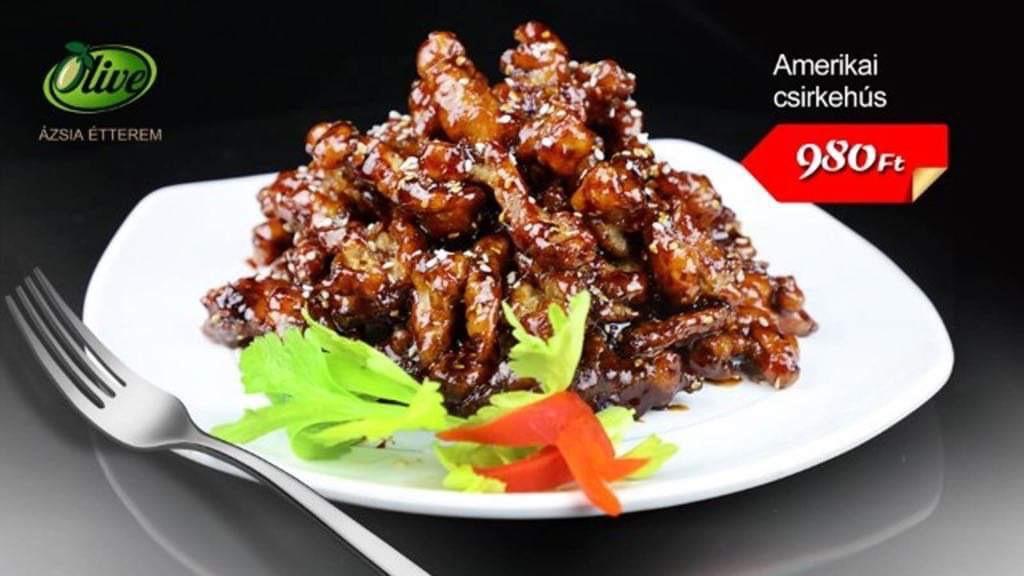 Ázsiai ízek különleges amerikai módra!Fedezze fel az ízeket!