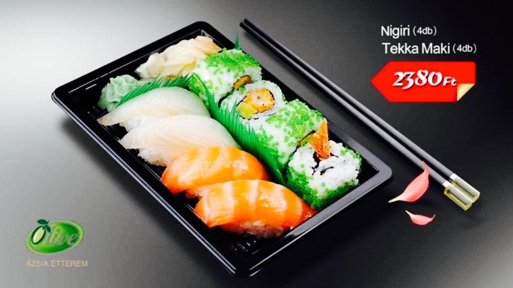 Sushi válogatás! Térjen be hozzánk és kóstolja meg!