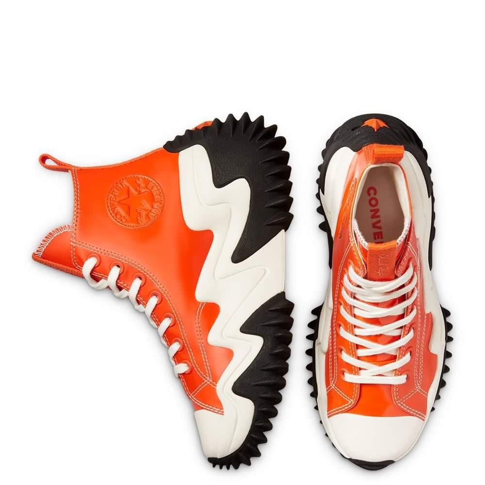 Run Star Motion Orange