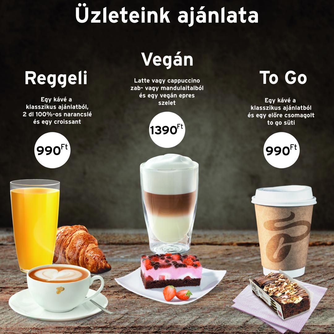 Kávébár ajánlatok