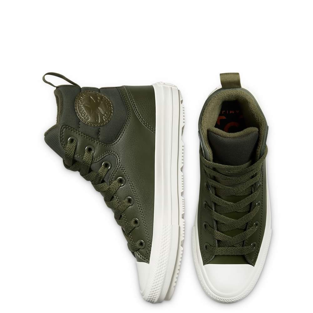 Converse Chuck Taylor All Star Berkshire Boot Leather Olive