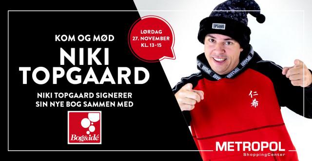 Kom og mød Niki Topgaard